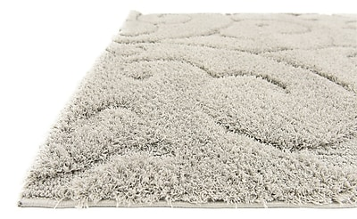 Charlton Home Avondale Floral Gray Area Rug; 5' x 8'