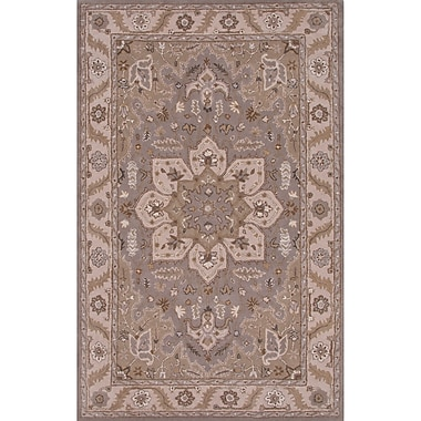 Charlton Home Trudell Hand-Tufted Gray Area Rug; Rectangle 8' x 10'