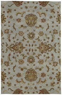 Charlton Home Cortland Pewter Europa Rug; Rectangle 9'6'' x 13'