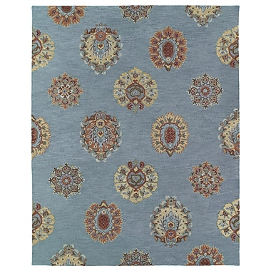 Charlton Home Corvally Area Rug; Rectangle 7'6'' x 9'