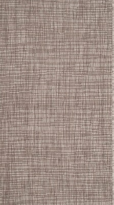 Charlton Home Poole Brown/Beige Indoor/Outdoor Area Rug; Rectangle 2' x 3'7''