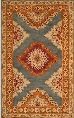 Charlton Home Cranmore Hand-Tufted Area Rug; Round 6'
