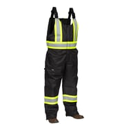 Forcefield Safety Overalls, Black Ripstop
