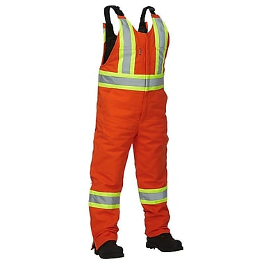 Forcefield Lined Safety Overall, Orange, Medium (024-OR35-M)