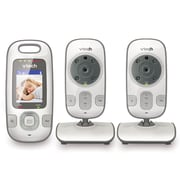 Vtech 2-inch Video Baby Monitor with Two Cameras and Night Vision, (VM312-2)