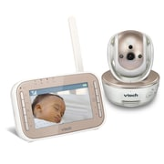 Vtech 4.3-inch Pan and Tilt Video Baby Monitor with Night Vision, (VM343)