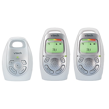 VTech – Interphone de surveillance audio avec 2 unités parentales (DM223-2)