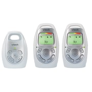 Vtech Audio Baby Monitor with 2 Parent Units, (DM223-2)