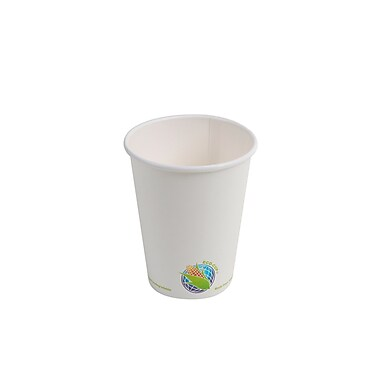 Eco-Packaging Compostable Hot Cup, 8oz. (EP-BHPC08)
