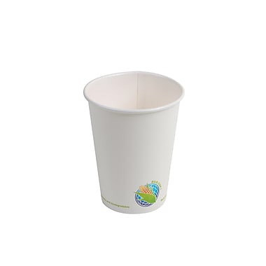 Eco-Packaging Compostable Hot Cup, 12oz. (EP-BHPC12)