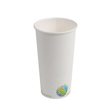 Eco-Packaging Compostable Hot Cup, 20oz. (EP-BHPC20)