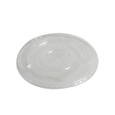 Eco-Packaging Compostable Cold Cup Flat Lid, 12-24oz. (EP-98FL)