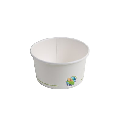 Eco-Packaging Compostable Paper Bowl, 12oz. (EP-BHSC12)