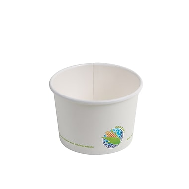 Eco-Packaging - Bol en papier compostable, 16 oz (EP-BHSC16)