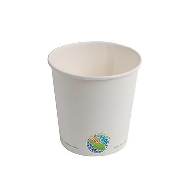 Eco-Packaging Compostable Paper Bowl, 24 oz., 500/Pack (EP-BHSC24)