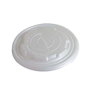 Eco-Packaging 115mm Compostable Bowl Lid, 12-32oz. (EP-BHSCL115)