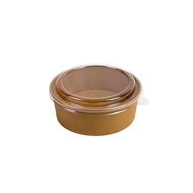 Eco-Packaging Natural Kraft Paper Bowl, 44oz. (EP-PFB44)