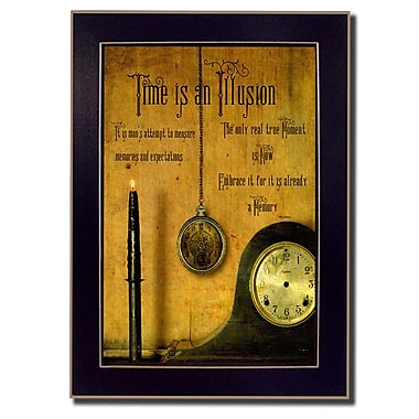 TrendyDecor4U Time is an Illusion Deco -8.5