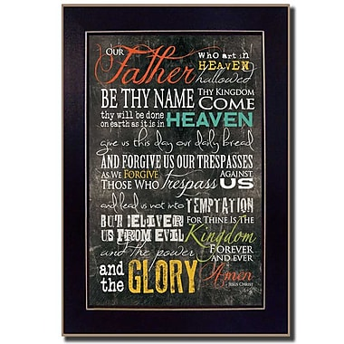 TrendyDecor4U The Lord's Prayer-8.5