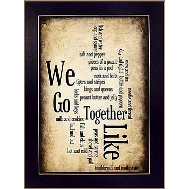 TrendyDecor4U We Go Together I - 8.5