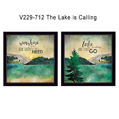 TrendyDecor4U The Lake is Calling -2-12