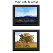 "TrendyDecor4U Success -2""x10""x14"" Framed Print (V265-405)"