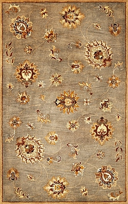 Charlton Home Blarwood Grey Allover Mahal Rug; Rectangle 8' x 10'6''