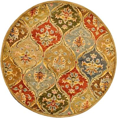Charlton Home Blarwood Panel Area Rug; Rectangle 9' x 13'