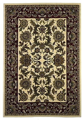 Charlton Home Bellville Ivory Area Rug; Rectangle 3'3'' x 4'11''