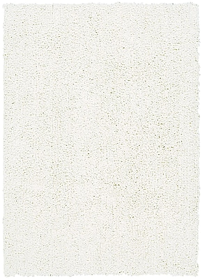 Corrigan Studio Carnlough North Hand-Woven White Area Rug; 4' x 6'