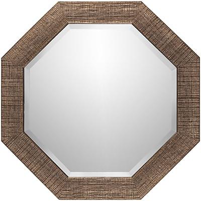 Corrigan Studio Brown Polystyrene Wall Mirror