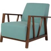 Corrigan Studio Abrams Armchair; Blue Topaz