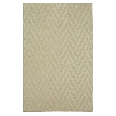 Corrigan Studio Bonino Beige Area Rug; Rectangle 5' x 8'