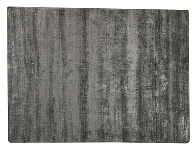 M.A. Trading Platinum Hand-Woven Dark Gray Area Rug; 5'6'' x 7'10''