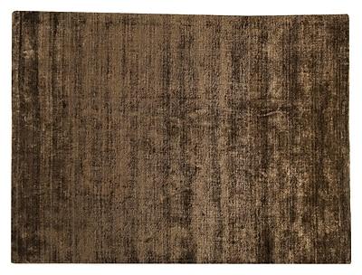 M.A. Trading Platinum Hand-Woven Mocha Area Rug; 5'6'' x 7'10''