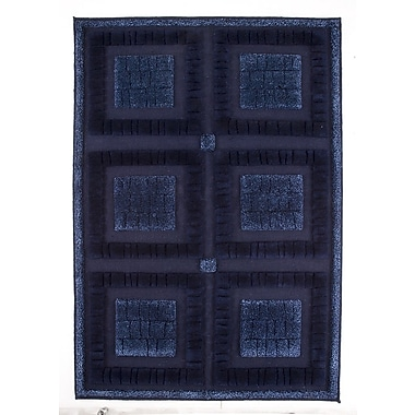 M.A. Trading Bergamo Hand-Knotted Blue Area Rug; 9' x 12'