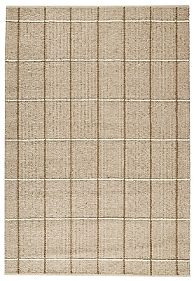 M.A. Trading Brooklyn Hand-Woven Beige Area Rug; 4'6'' x 6'6''