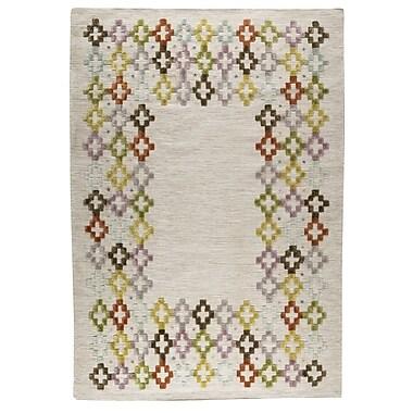M.A. Trading Khema 3 Hand-Woven Green/Purple/Brown Area Rug; 8'3'' x 11'6''