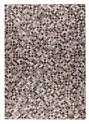 M.A. Trading Chess Hand woven Gray Area Rug; 5' x 8'