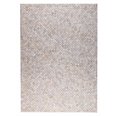 M.A. Trading Chess Hand woven White Area Rug; 8' x 10'
