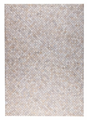 M.A. Trading Chess Hand woven White Area Rug; 5' x 8'