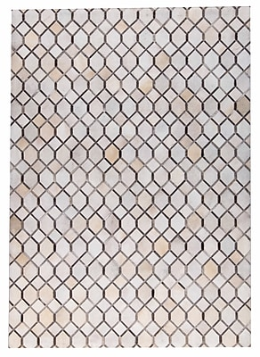 M.A. Trading Hydra Hand Woven White/Gray Area Rug; 8' x 10'