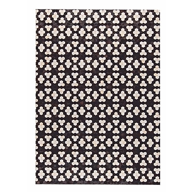M.A. Trading Star Hand Woven Black/White Area Rug; 8' x 10'