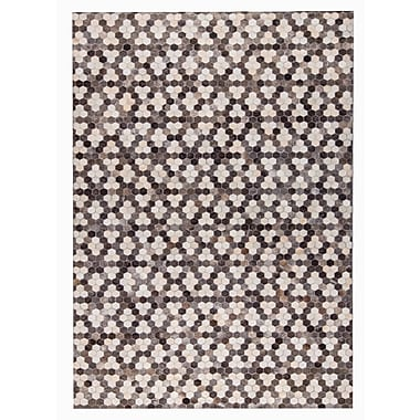 M.A. Trading Star Hand Woven Gray/White Area Rug; 5' x 8'