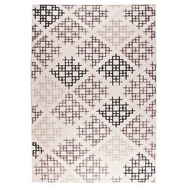 M.A. Trading Lowell Hand-Woven Gray/Beige Area Rug; 9' x 12'