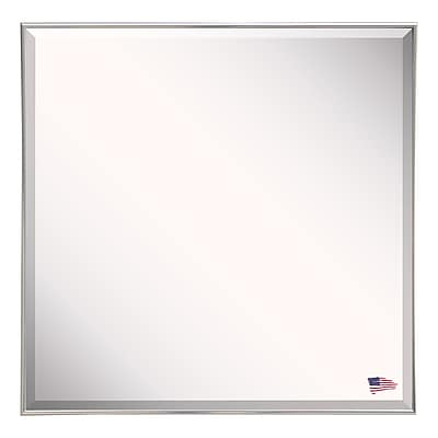Darby Home Co Gleaming Silver Wall Mirror