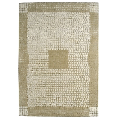 M.A. Trading Marrakesh Hand-Tufted Caramel/White Area Rug; 4'6'' x 6'6''