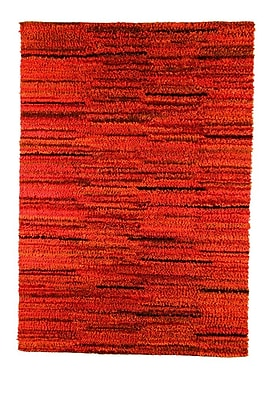 M.A. Trading Mat Mix Hand-Woven Rust Area Rug; 5'6'' x 7'10''