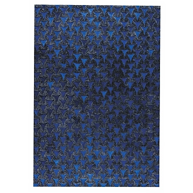 M.A. Trading Adhara Hand woven Blue Area Rug; 8' x 10'