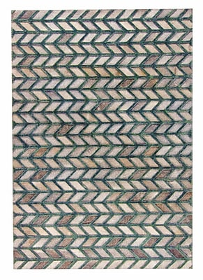 M.A. Trading Gamma Hand Woven Gray/Green Area Rug; 9' x 12'